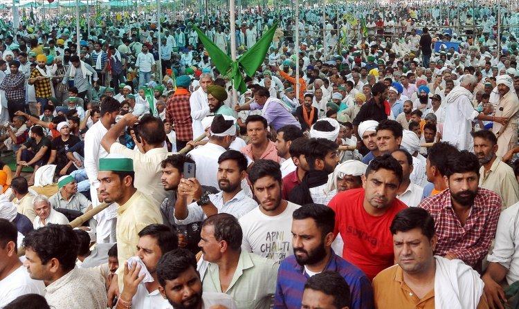Gap between farmers' movement and politics narrowing